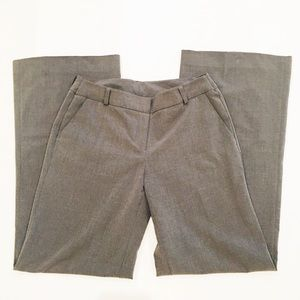 New York & Co Gray Wide Leg Trousers 4
